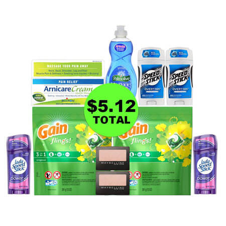 For Only $5.12, Get (1) Pain Creme, (1) Dish Soap, (2) Eye Shadows, (2) Laundry Products & (4) Deodorants at CVS! (1/21 – 1/27)