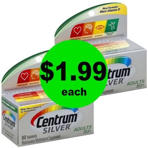 PRINT Now for $1.99 Centrum Vitamins at Publix! (Ends 1/12)