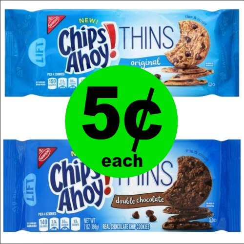 Chips Ahoy! Thins Cookies at Just 5¢ Each at Publix! (1/25-1/31 or 1/24-1/30)