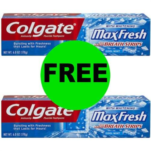 Pick Up FREE Colgate Total Toothpaste at CVS! (1/7 – 1/13)