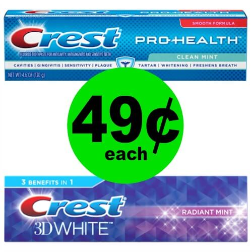 Get Fresh with 49¢ Crest Pro-Health, 3D White or Complete Toothpaste at CVS! (1/21 – 1/27)