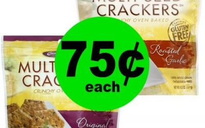 Print NOW for 75¢ Crunchmaster Crackers at Publix! (Ends 1/23 or 1/24)