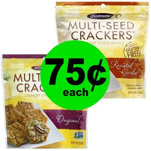 Print NOW for 75¢ Crunchmaster Crackers at Publix! (Ends 4/3 or 4/4)