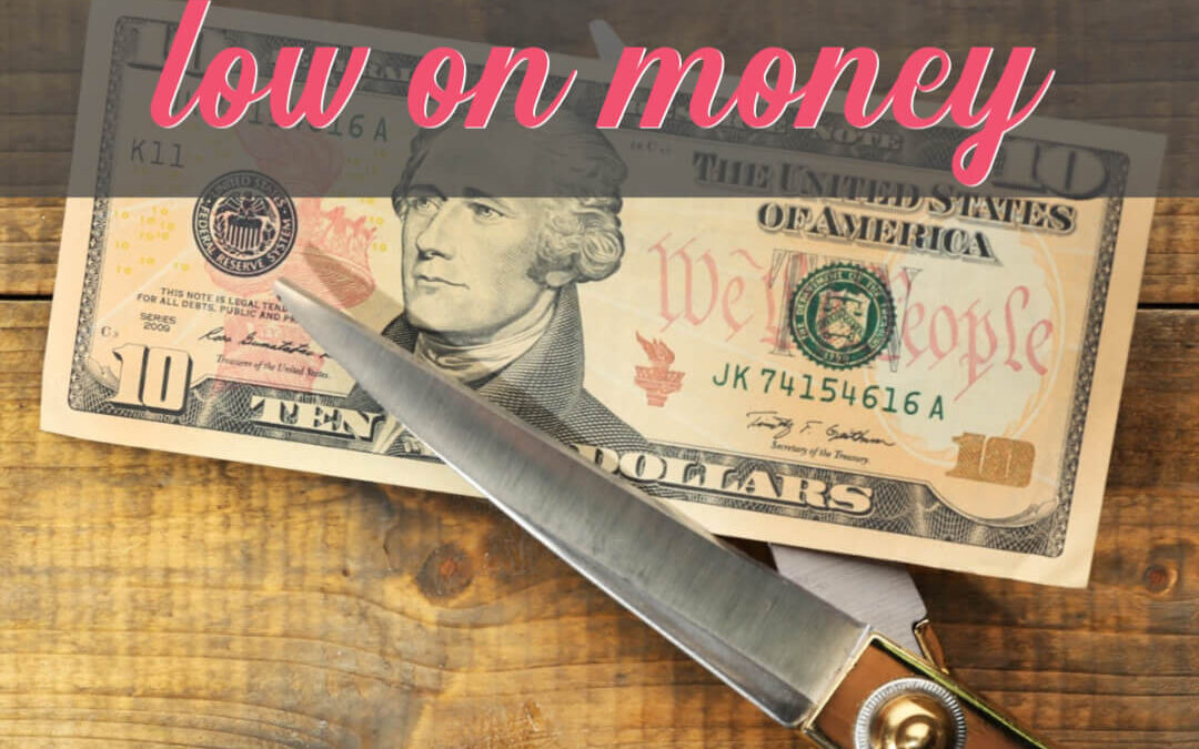 How To Cut Expenses When You're Low On Money