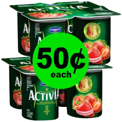 Love Yogurt? Pick Up 50¢ Dannon Activia 4 Packs at Publix! (Ends 1/16 or 1/17)