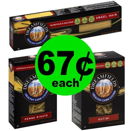 Have Pasta Night Without the Extra Carbs! Pick Up Dreamfields Low Carb Pasta for 67¢ Each at Publix! (1/6 – 1/19)