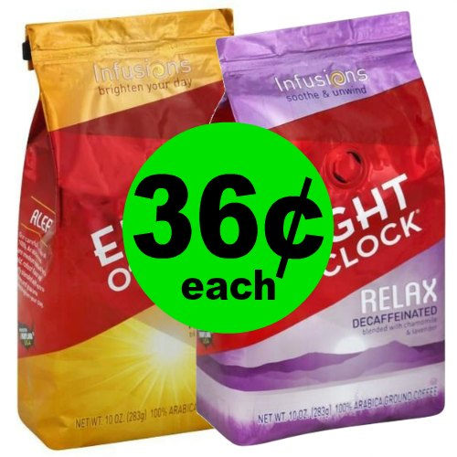 Enjoy a Warm Cup of Coffee! Pick Up 36¢ Eight O'Clock Coffee Infusions Coffee Bags at Publix! (Ends 1/9 or 1/10)