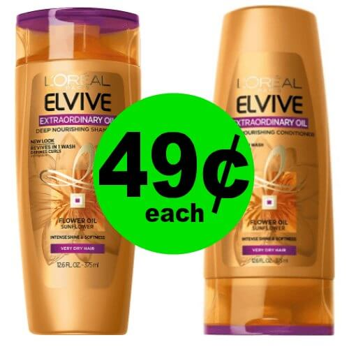 Bring Life Back to Your Hair with 49¢ L'Oreal Elvive Hair Care at CVS! (1/28 – 2/3)