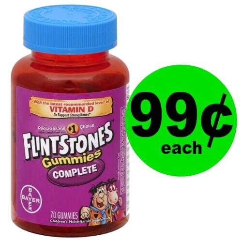 Stock Up on Flintstones Vitamins for 99¢ Each at Publix! (Ends 1/12)