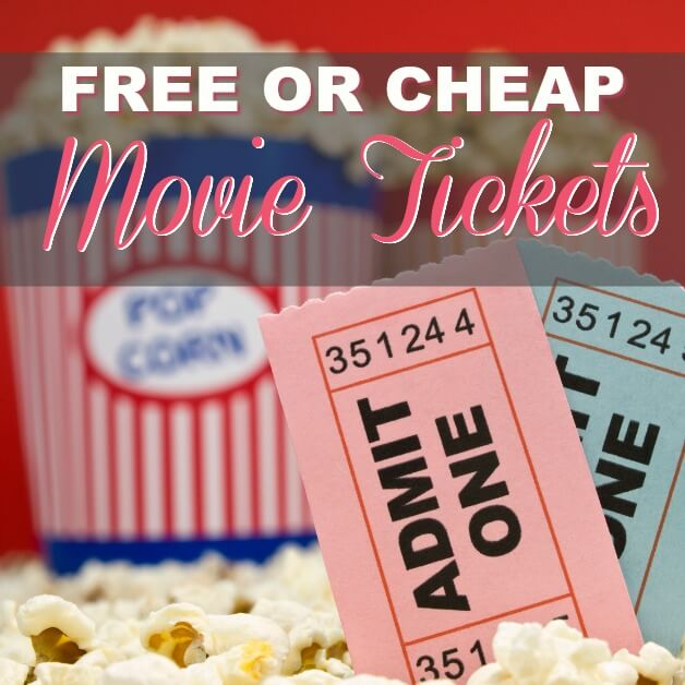How To Get Free or Cheap Movie Tickets