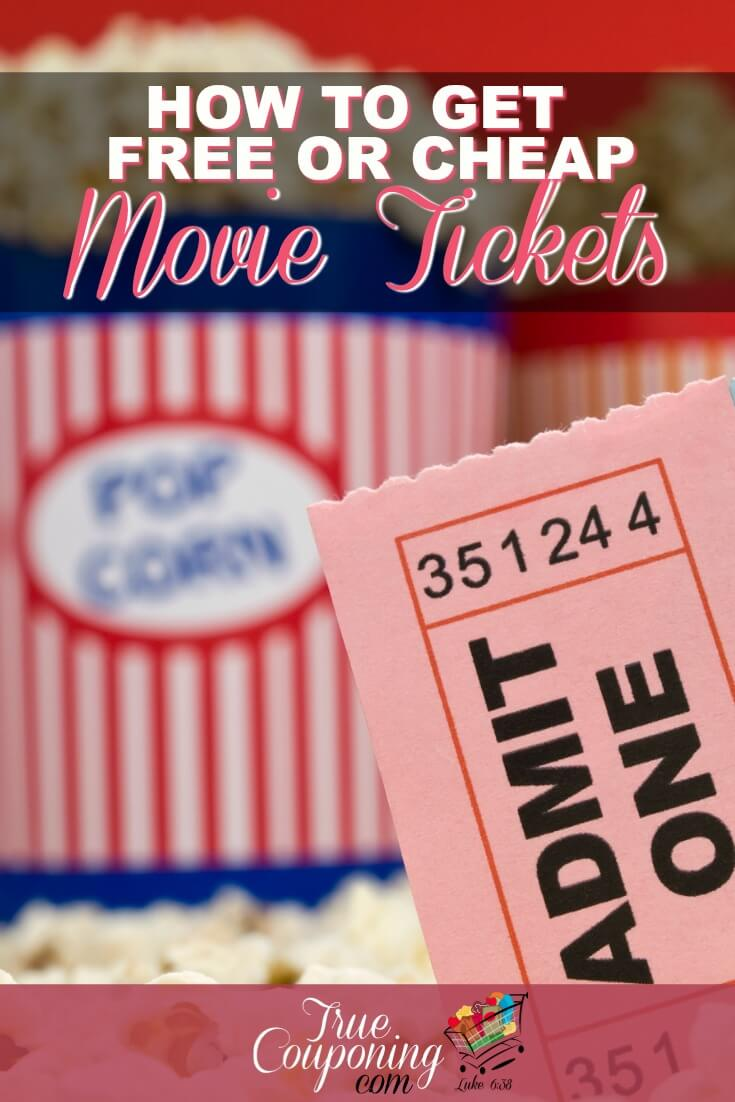 Whether you're going for date night, or just a trip to see the latest movie, you never need to pay full price for a movie ticket ever again!  #savingmoney #movietime #truecouponing #couponcommunity #savemoney