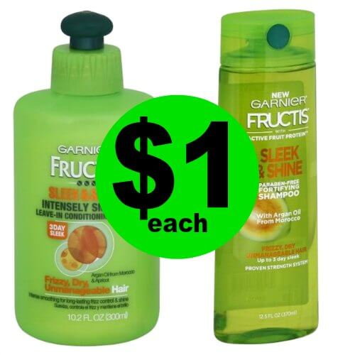 Pick Up Garnier Fructis Hair Care  for Only $1 Each at Publix! (Ends 2/20 or 2/21)