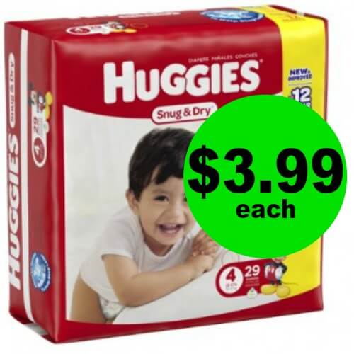 Don't Miss Out on Huggies Diapers for $3.99 Each at Publix! (Ends 1/23 or 1/24)