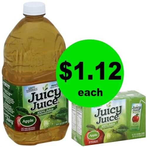 Kids Low on Juice? Grab Juicy Juice Bottles or Multipacks for $1.12 Each at Publix! (1/18-1/24 or 1/17-1/23)