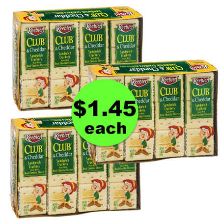 Tame the Snack Monster with $1.45 Keebler Sandwich Crackers at Target! (Ends 1/21)