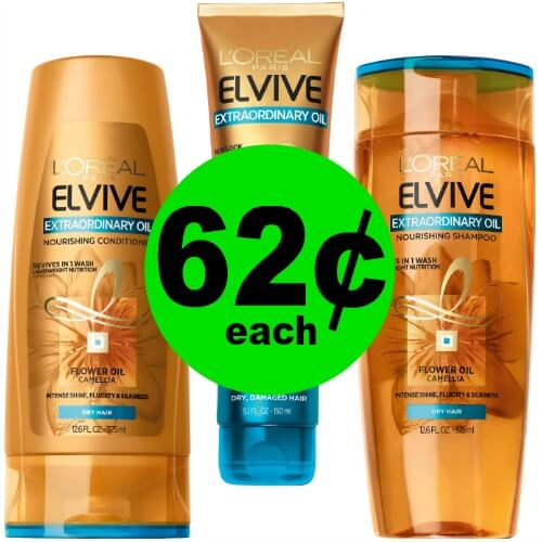 Revive Your Hair with 62¢ L'Oreal Elvive Hair Care at CVS! (1/14 – 1/20)