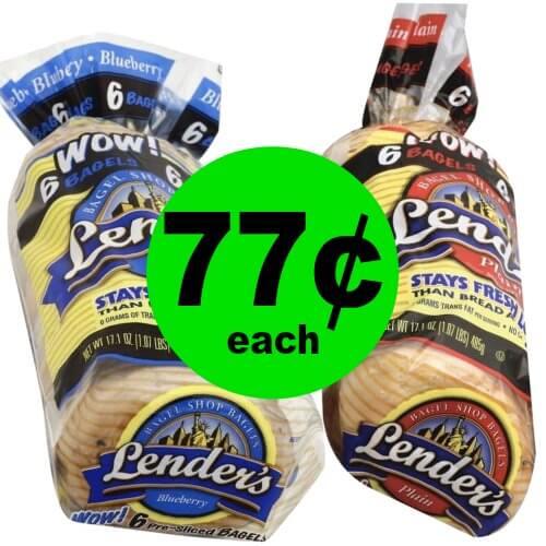 Grab Lender's Bagels for 77¢ Each at Publix! (Ends 1/30 or 1/31)