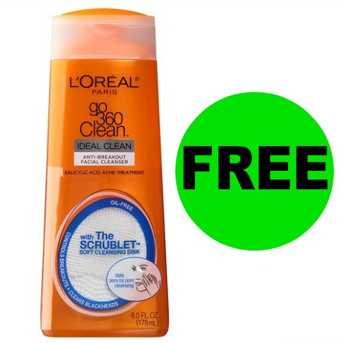 At Publix Now, FREE L'Oreal Go 360 Cleanser (Reg. $5)! (Ends 1/26)