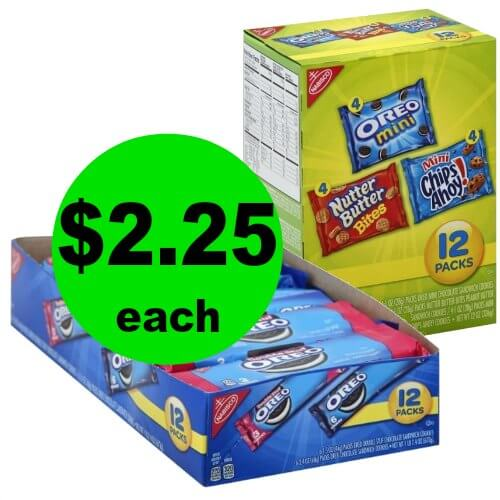 Lunch Snacks are Solved! Snag Nabisco Variety Packs for $2.25 Each at Publix! (1/7 – 1/9 or 1/10)