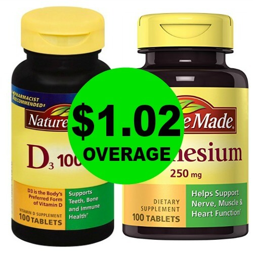 Make Sure To Get $1.02 Overage wyb Two Nature Made Vitamins at Publix! (Valid 1/13 – 1/26)