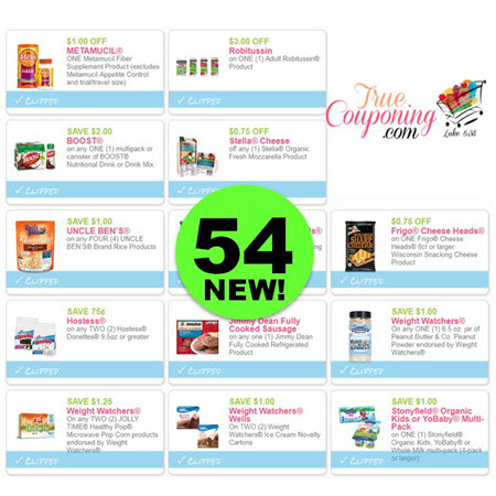 Have You Printed ALL Fifty-Four (54!) Coupons?! PRINT Now Before They Disappear!