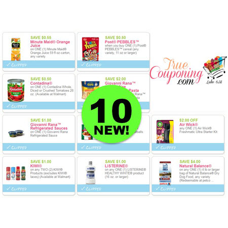 There's TEN (10!) NEW Coupons To Print Today! Save on Air Wick, Minute Maid & More!