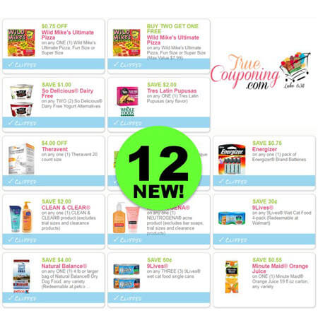 There's Twelve (12!) NEW Coupons Today for So Delicious, Wild Mike's Pizza, Neutrogena & More!