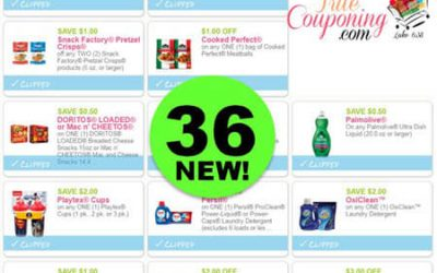 Did You SEE The Thirty-Six (36!) NEW Coupons To PRINT This Week?! Save on Gerber, Nestle & More!