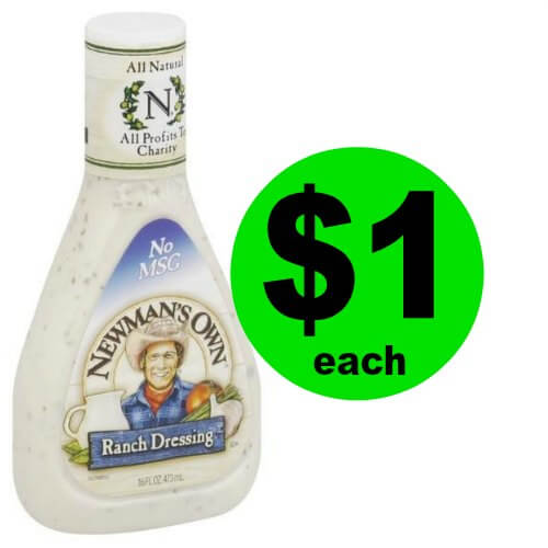 Dress Up Your Meals with $1 Newman's Own Salad Dressing at Publix! (1/6 -1/19)