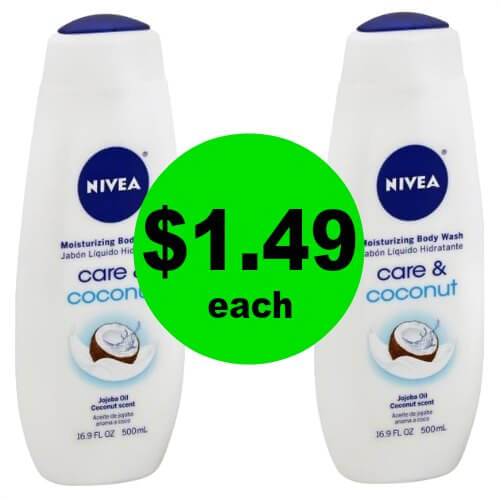 PRINT NOW for $1.49 Nivea Body Washes at CVS! (Ends 1/6)