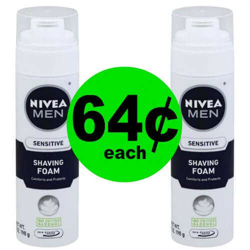 Enjoy the Shave with 64¢ Nivea Shave Foam at Publix – PRINT NOW! (Ends 1/12)