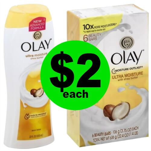 Wash Up with $2 Olay Body Wash or Bar Soap 6 Pack  at Publix (Reg. $6)! (Ends 1/16 or 1/17)