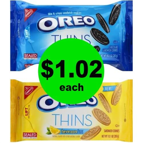 Treat Yourself to Nabisco Oreo Thins for $1.02 Each at Publix! (Ends 1/16 or 1/17)