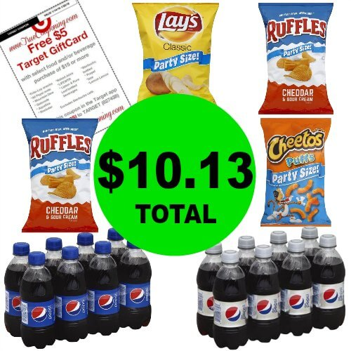 For Just $10.13, Get (6) Pepsi & Frito-Lay Products at Publix! (Ends 1/16 or 1/17)
