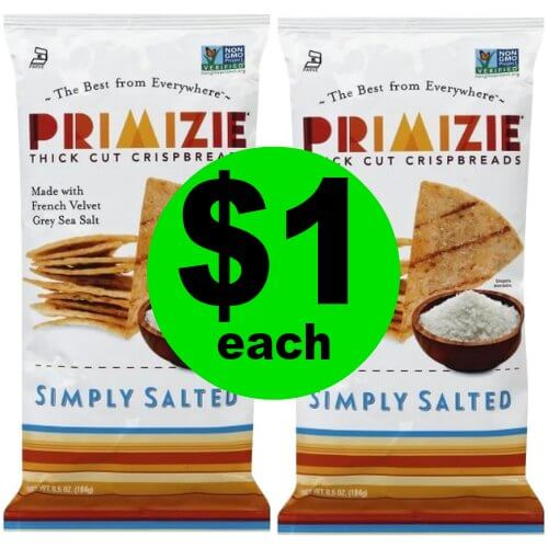 Get a Big Crunch! Snack on $1 Primizie Snacks at Publix! (Ends 1/8)