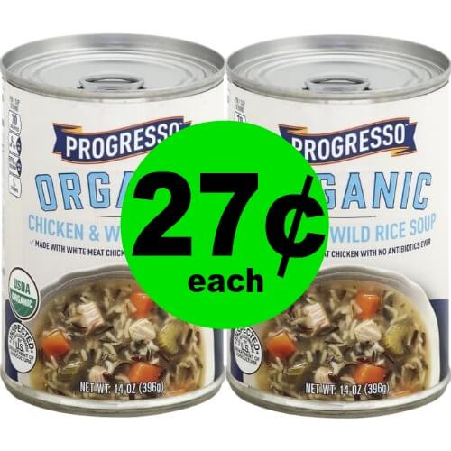 Print Now and Warm Up with 27¢ Progresso Organic Soup at Publix! (Ends 1/16 or 1/17)