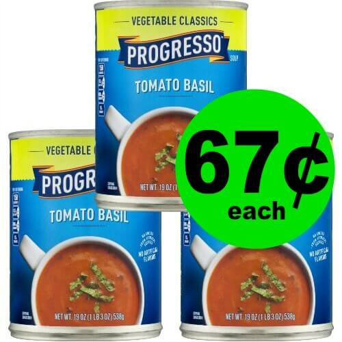 Soup for Diner! Pick Up Progresso Soups for 67¢ Each at CVS! Print Now! (2/4 – 2/10)