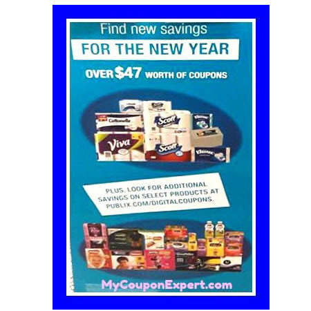 "Publix ""For the New Year"" Kimberly-Clark Coupon Booklet! (Valid 1/15 – 2/15/18)"
