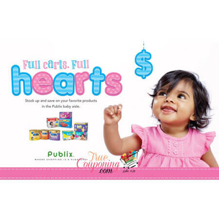 "Publix ""Full Carts. Full Hearts."" Baby Coupon Booklet & Printables! (Valid 1/24 – 2/21)"
