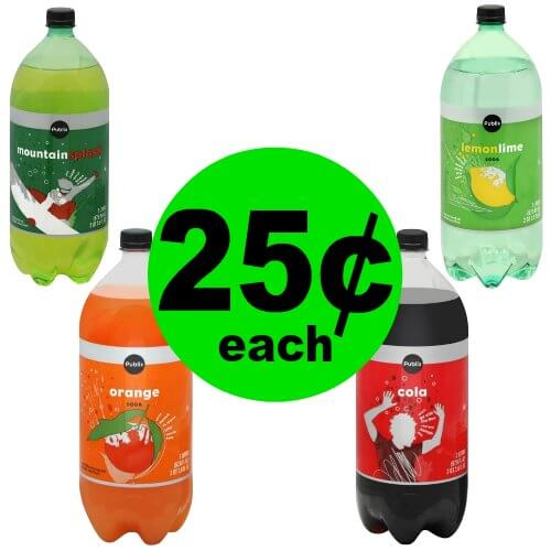 Publix Deal: 🥤 25¢ Publix Soda 2 Liters! (1/30-2/5 or 1/31-2/6)