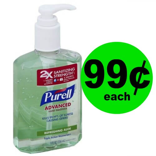 Say Good Bye to Germs! Pick Up 99¢ Purell Hand Sanitizer at Publix! (Ends 2/16)