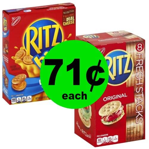 Snag Nabisco Ritz Crackers for 71¢ Each at Publix! (1/14 – 1/16 or 1/17)