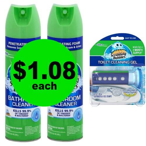 Make the Toilets Sparkle! Grab Scrubbing Bubbles Toilet Cleaning Gel for $1.08 Each at Publix! (1/18-1/24 or 1/17-1/23)