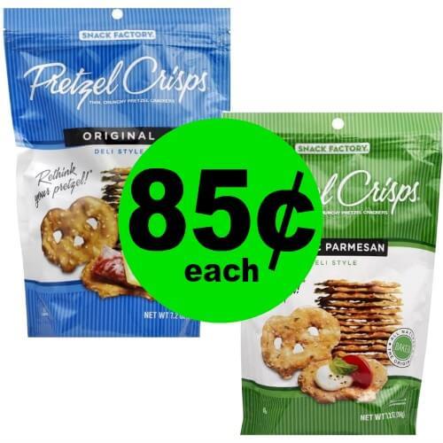 Don't Miss Snack Factory Pretzel Crisps for 85¢ Each at Publix! (Ends 1/30 or 1/31)