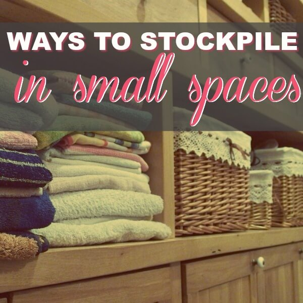 Stockpiling Tips For People Who Don't Have Room For A Stockpile