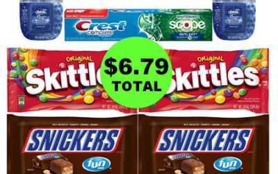 For $6.79 Total, Get (3) Oral Care & (4) Candy Bags at Walgreens! (1/21 – 1/27)