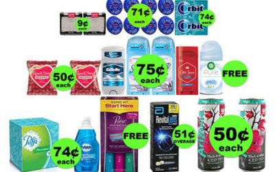 Don't Miss the THREE (3!) FREEbies & EIGHT (8!) Deals Just 75¢ Each or Less at Walgreens! (Ends 1/20)