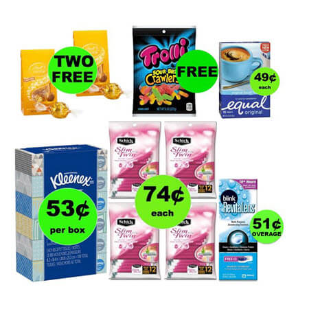 Don't Miss the FOUR (4!) FREEbies & SEVEN (7!) Deals Just 79¢ Each or Less at Walgreens! (Ends 1/13)