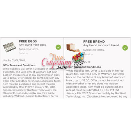 FREE Eggs & FREE Bread at Walmart! (Ends 1/7)