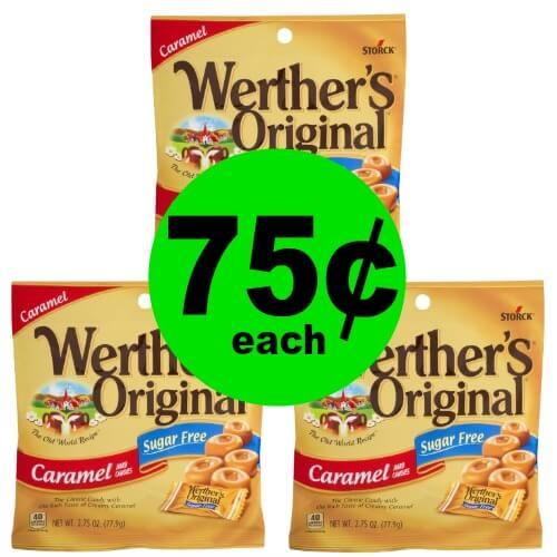 Enjoy Sweets without The Sugar! Pick Up 75¢ Werther's Sugar Free Caramels at Publix!